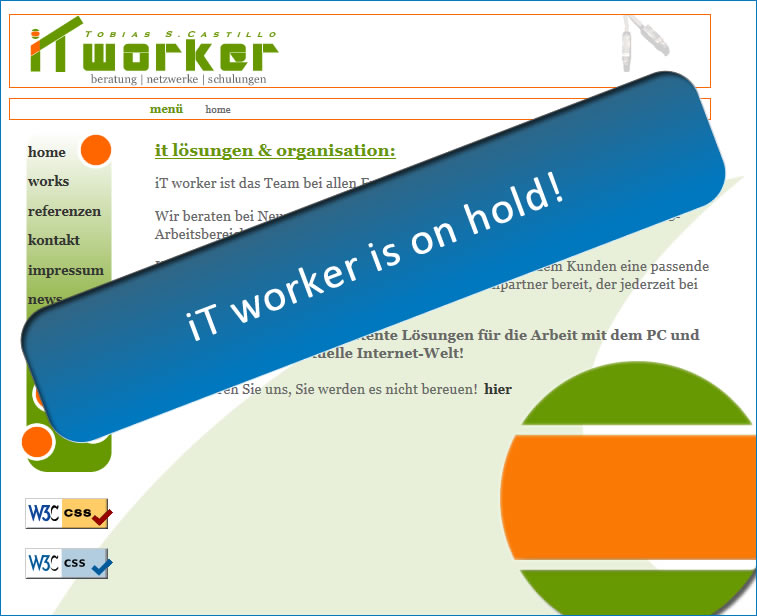 iT worker is on hold!
